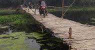 শৈলকুপার নাগিরাট ঘাটে ব্রীজের অভাবে মানুষের দূর্ভোগ