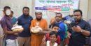 পার্বতীপুরে সিয়াম ট্রেডার্সের উদ্যোগে খাদ্য সামগ্রী বিতরণ