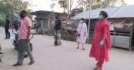 জীবনের ঝুকি নিয়ে কালীগঞ্জের অলিতে গলিতে নির্বাহী কর্মকর্তা